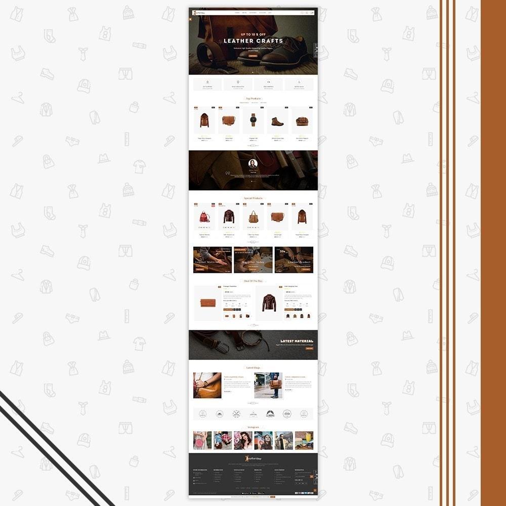 theme - Moda & Obuwie - Leather Shop - 2