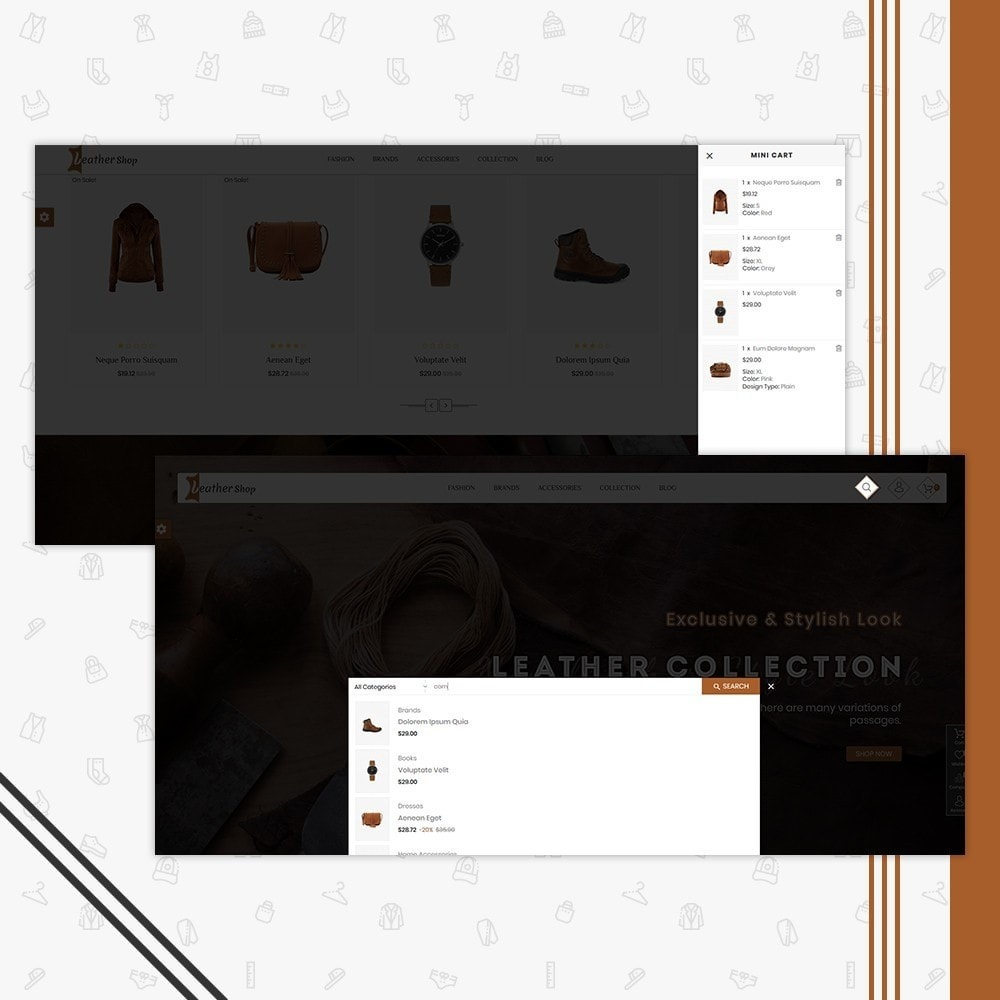 theme - Moda & Obuwie - Leather Shop - 6