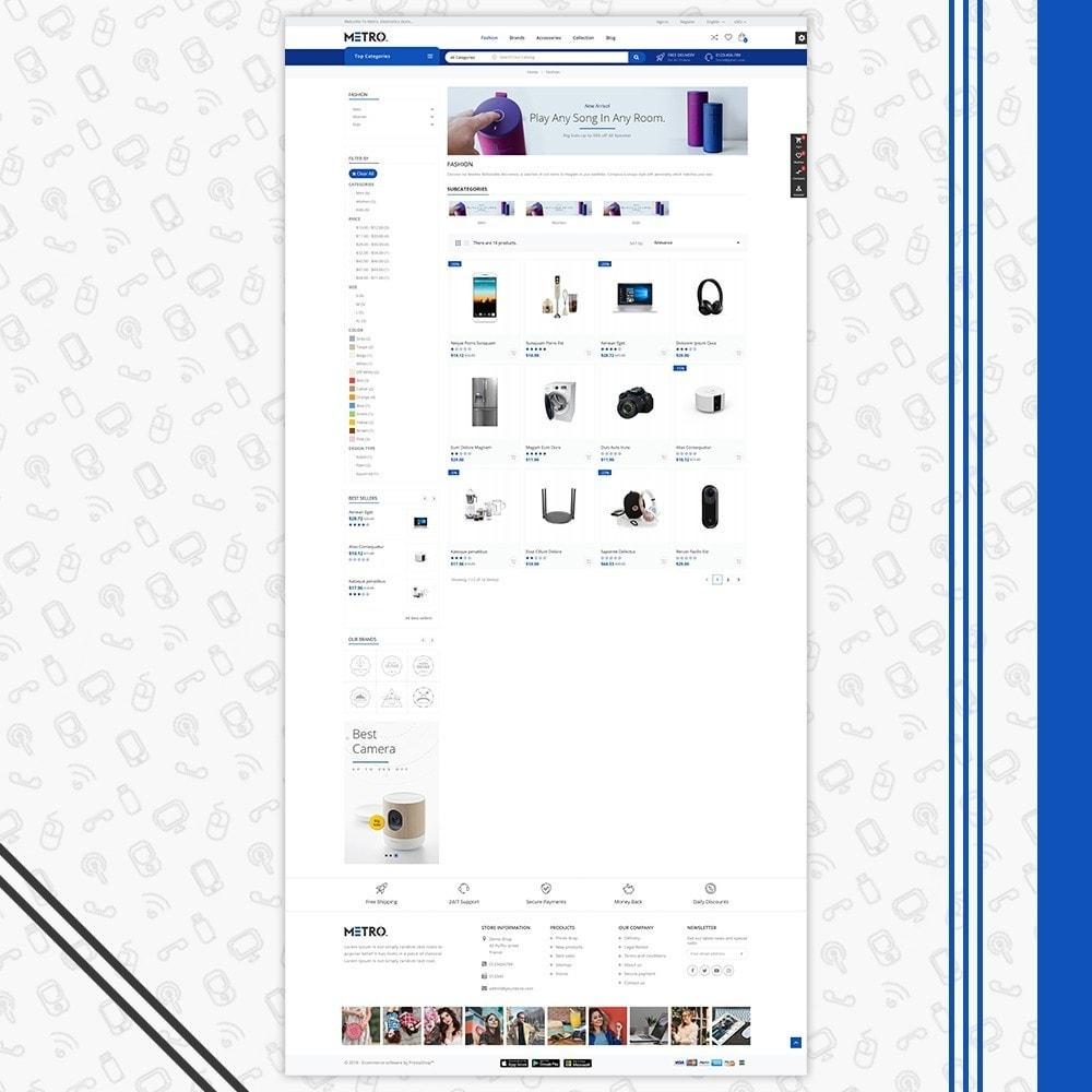 theme - Electrónica e High Tech - Metro Electronics Multi Store - 3