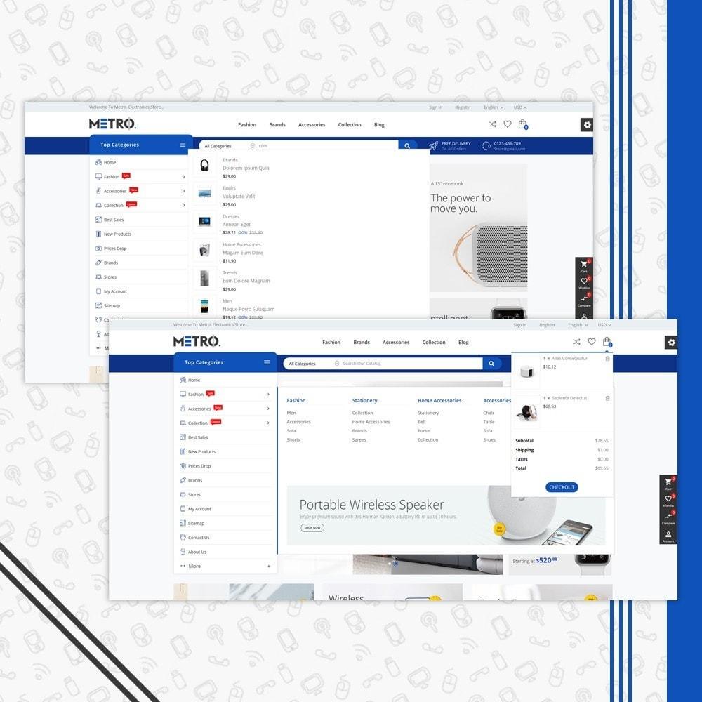 theme - Electrónica e High Tech - Metro Electronics Multi Store - 6