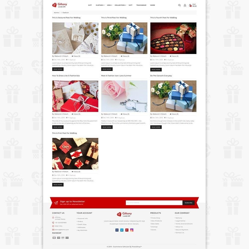 theme - Prezenty, Kwiaty & Uroczystości - Giftony - Lovely Gift & Flower - 6