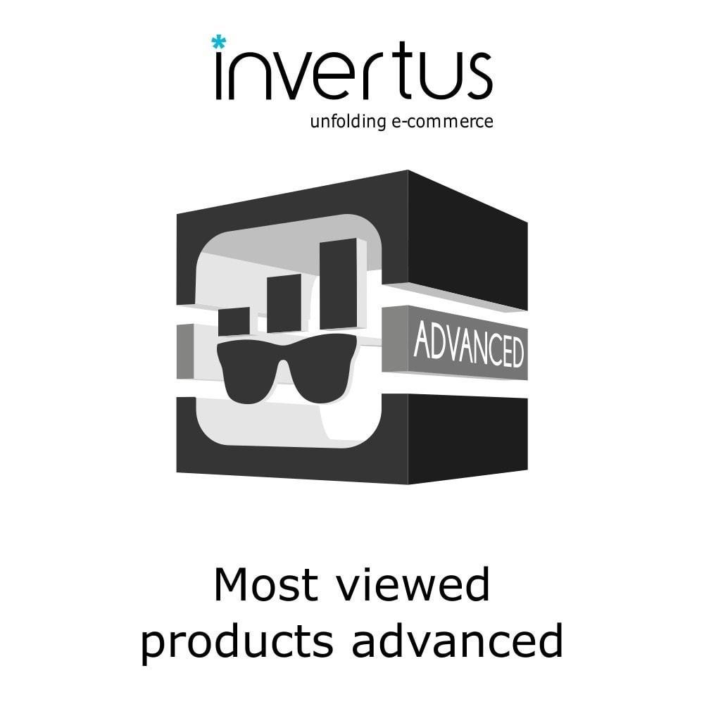 module - Produkte auf der Startseite - Most Viewed Products Advanced - 1
