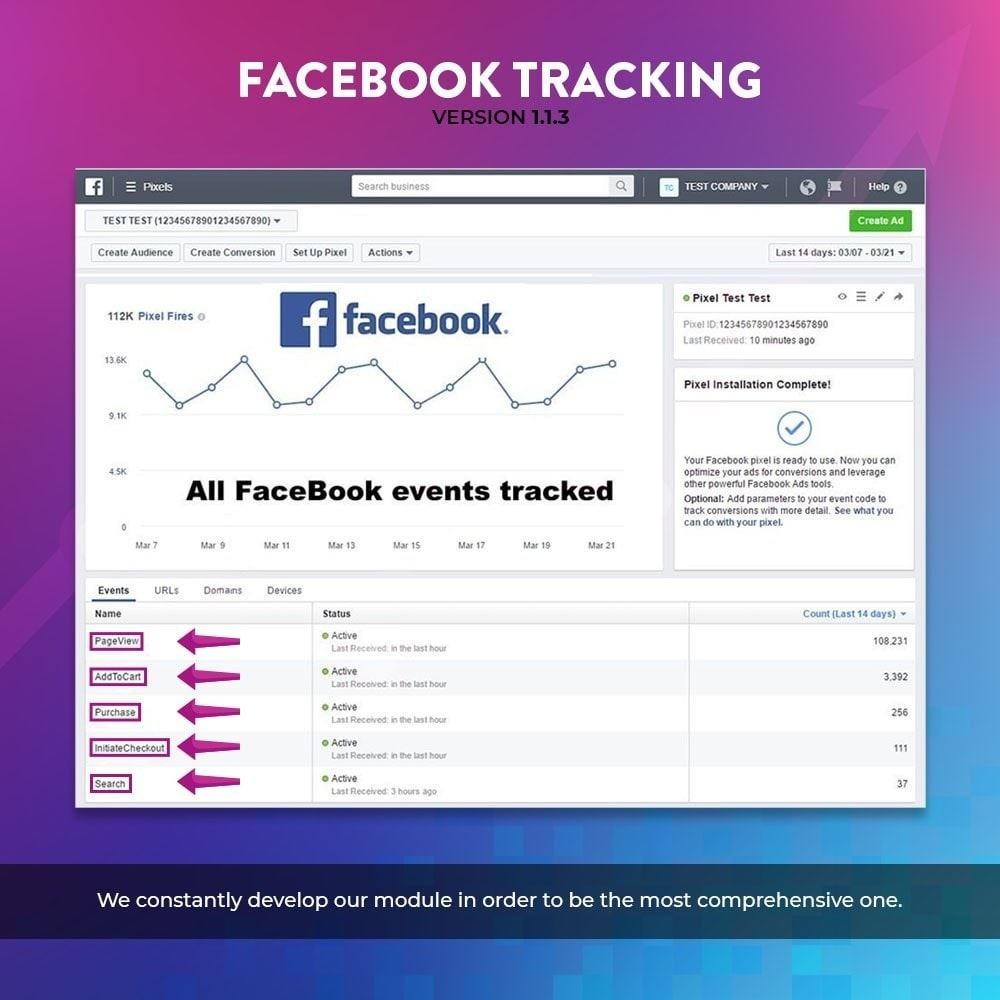 module - Remarketing & Compras abandonados - Social Pixel Tracking Using Tag Manager - 3