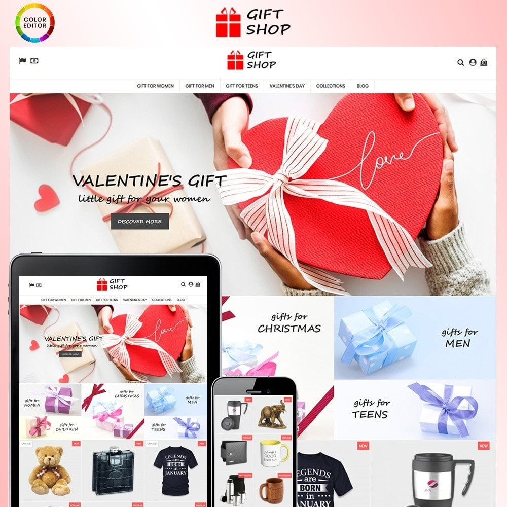 theme - Geschenke, Blumen & Feiern - Gift Shop - 1