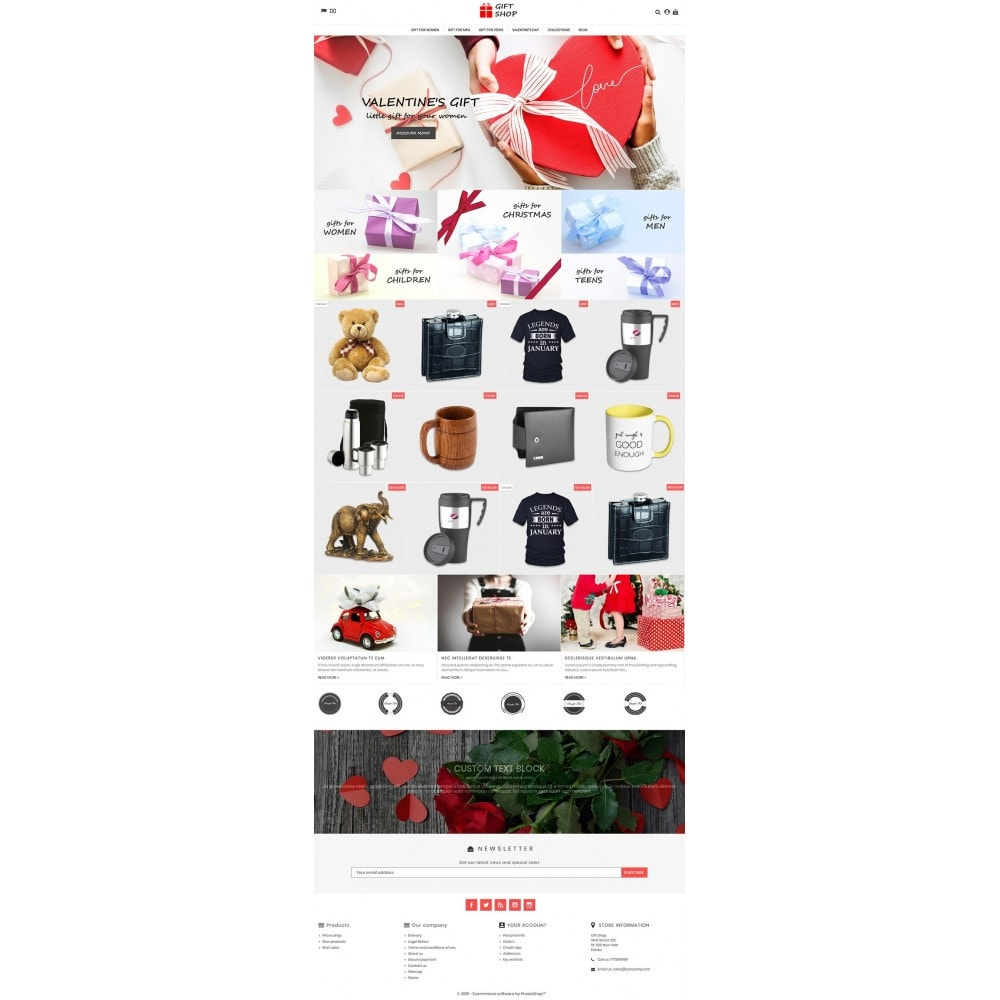 theme - Prezenty, Kwiaty & Uroczystości - Gift Shop - 3