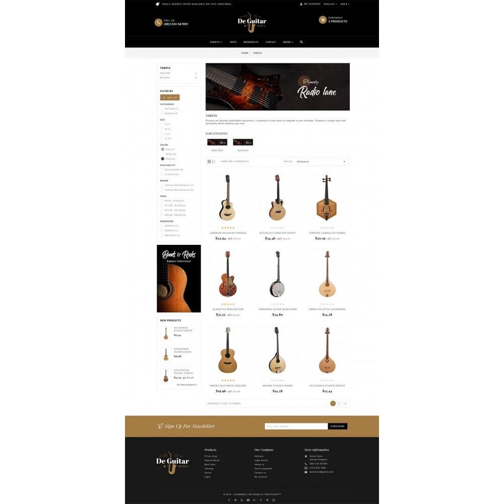 theme - Arte y Cultura - De Guitar & Music Instruments - 3
