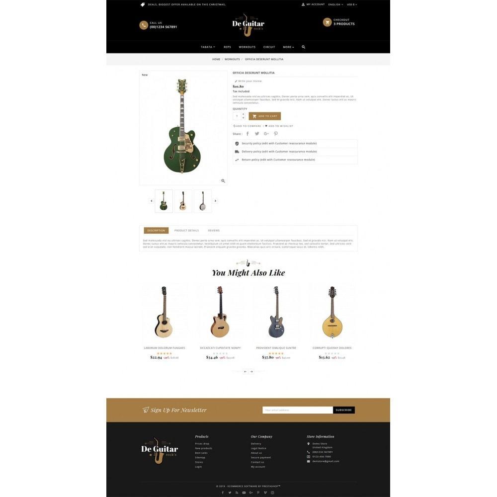 theme - Arte y Cultura - De Guitar & Music Instruments - 5