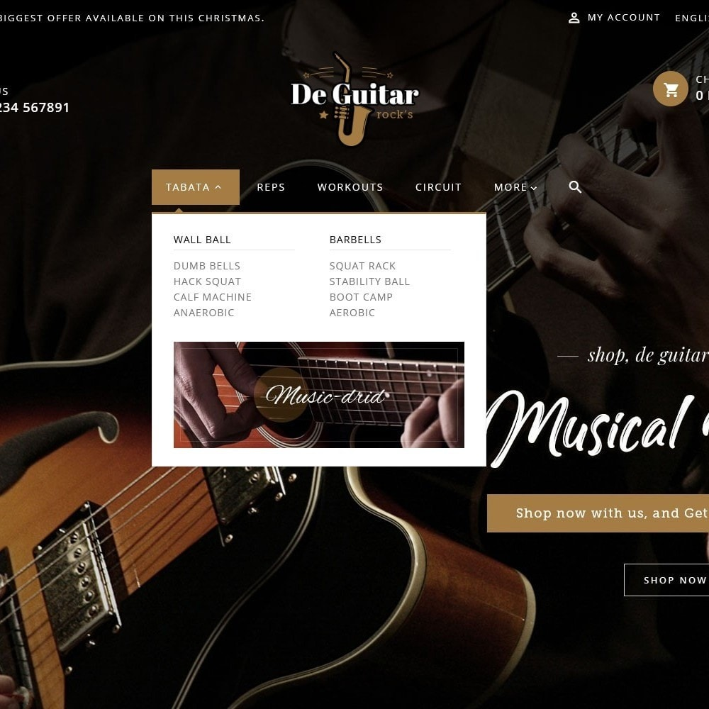 theme - Arte y Cultura - De Guitar & Music Instruments - 8
