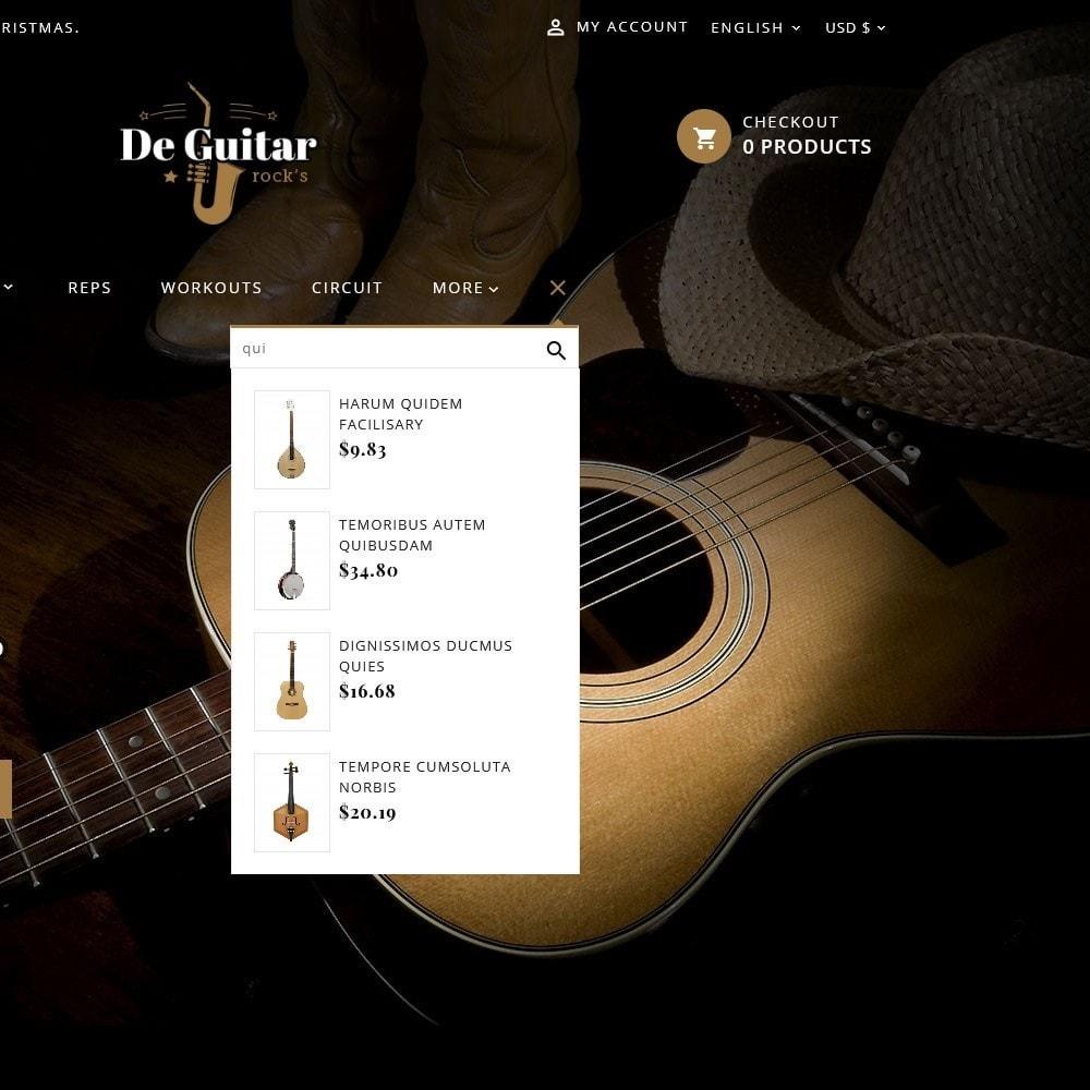 theme - Arte y Cultura - De Guitar & Music Instruments - 9