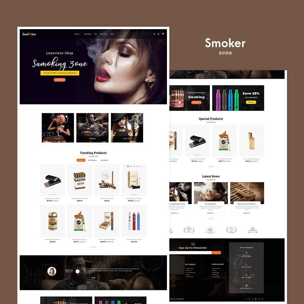 theme - Boissons & Tabac - Smoker & Cigar Tobacco - 2