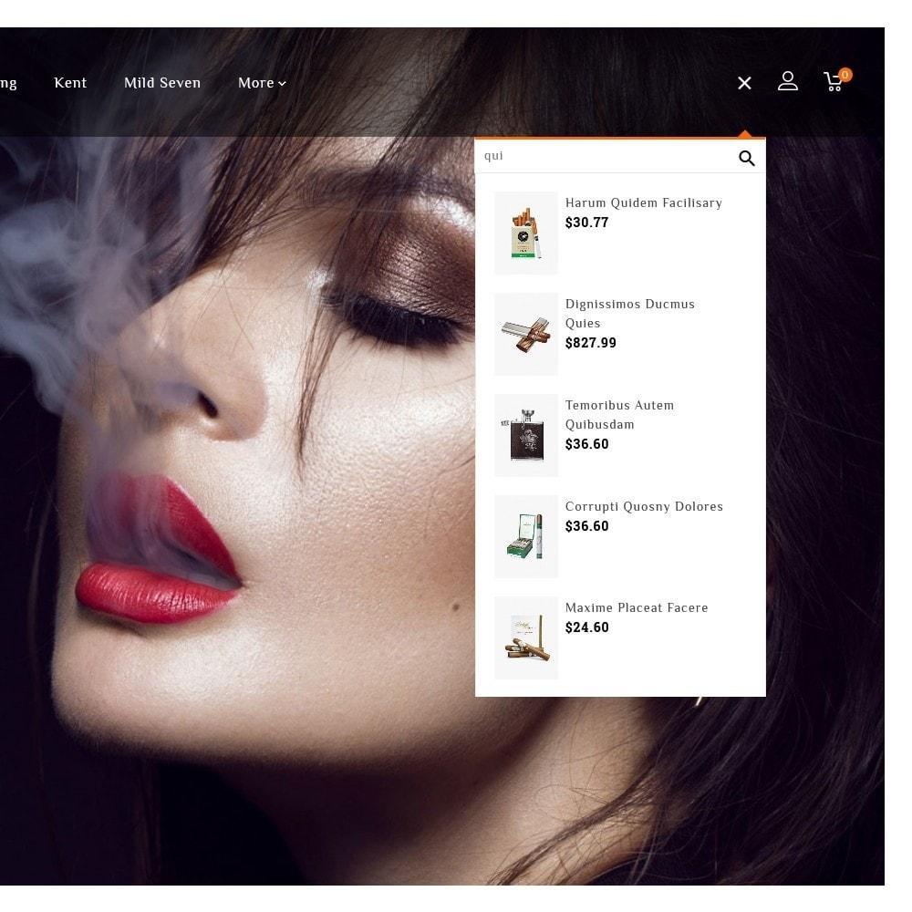 theme - Boissons & Tabac - Smoker & Cigar Tobacco - 9