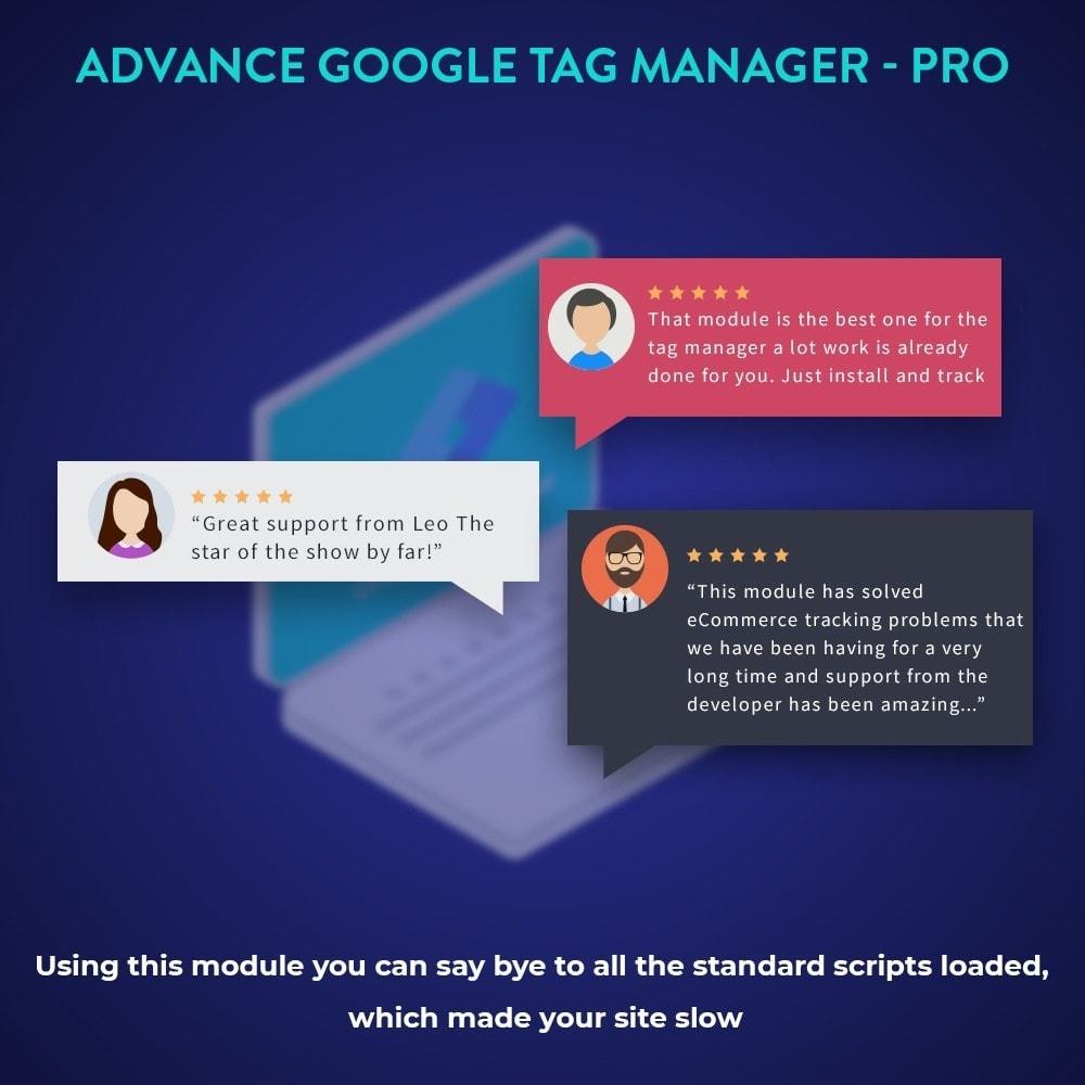 module - Análises & Estatísticas - Advance Google Tag Manager - PRO - 3