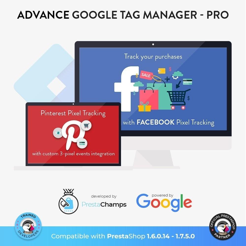 module - Análises & Estatísticas - Advance Google Tag Manager - PRO - 7