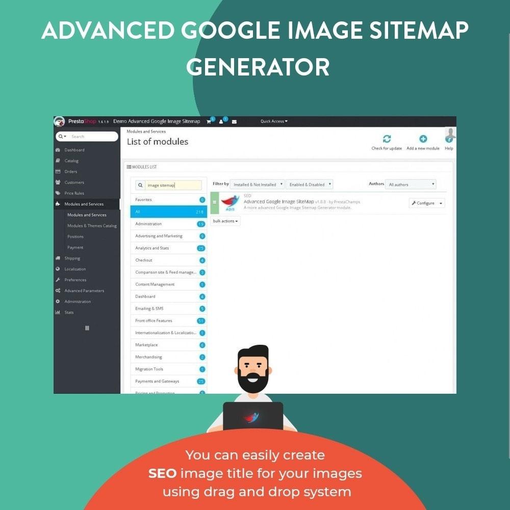 module - Естественная поисковая оптимизация - Advanced Google Image Sitemap Generator - 3