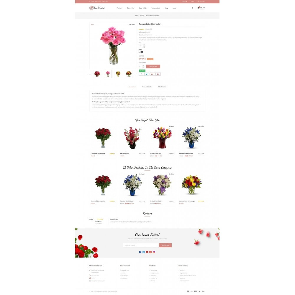 theme - Regali, Fiori & Feste - Flowmart - Flowers Store - 5