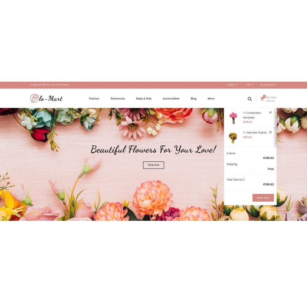 theme - Regali, Fiori & Feste - Flowmart - Flowers Store - 8