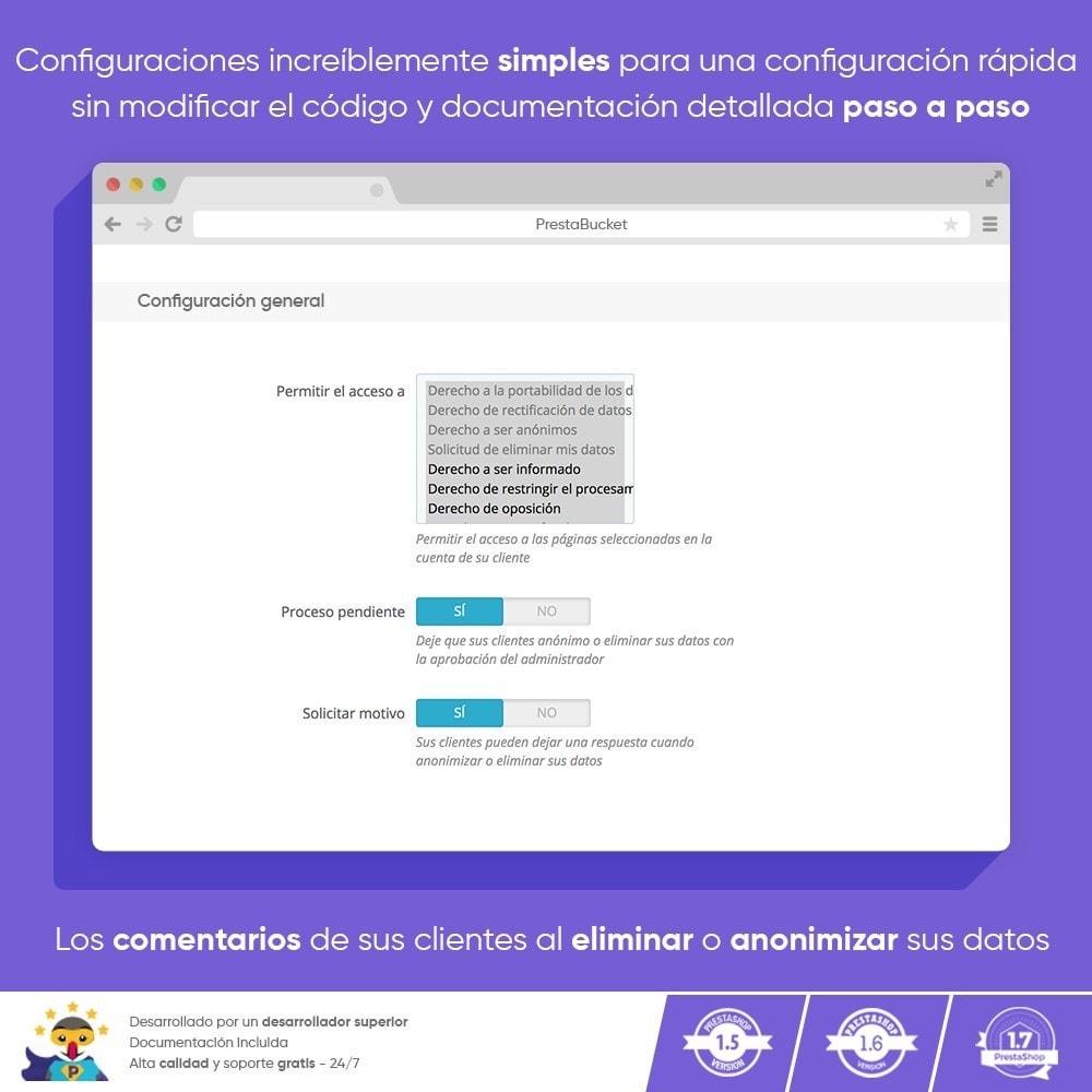 module - Marco Legal (Ley Europea) - RGPD PRO - Reglamento General de Protección de Datos - 3