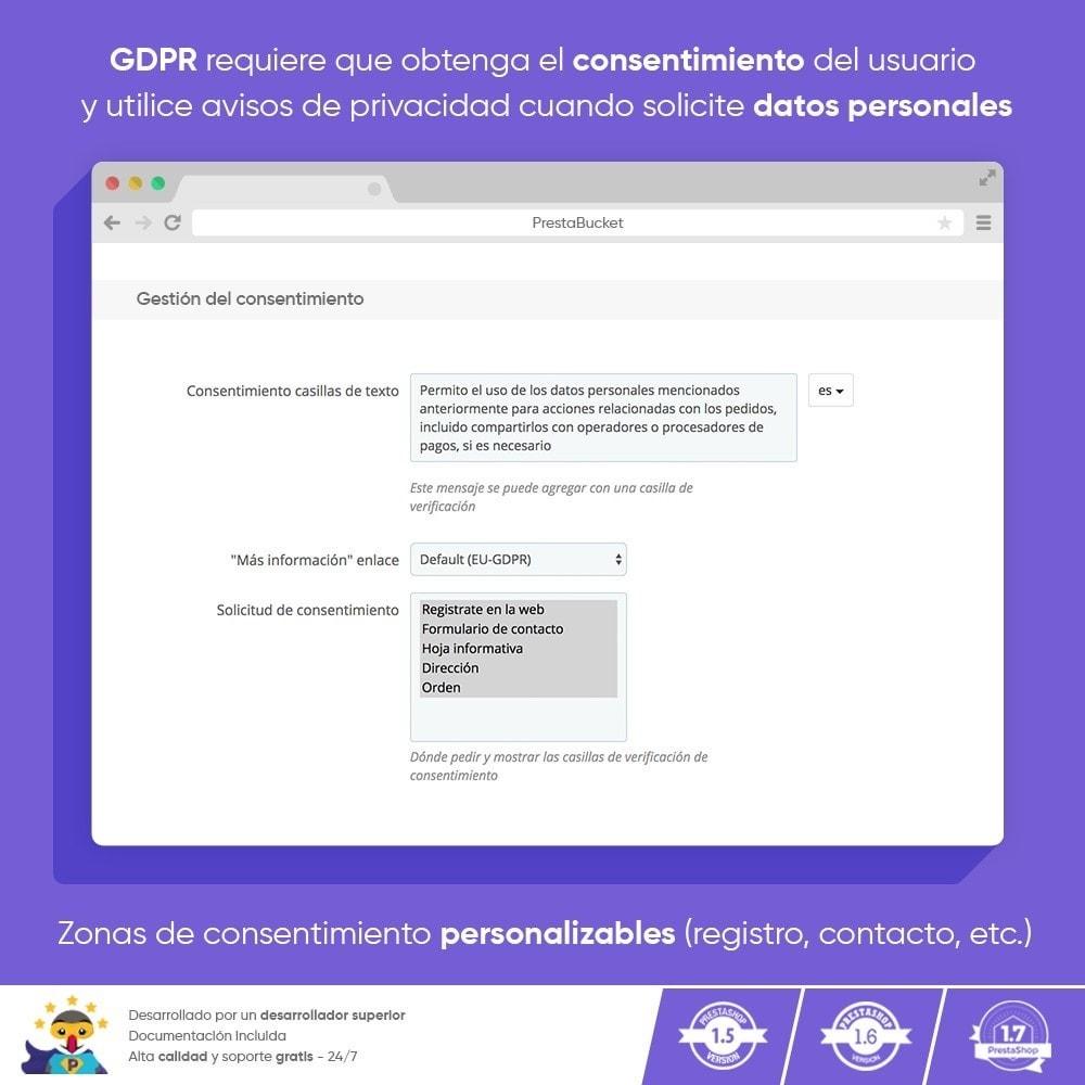 module - Marco Legal (Ley Europea) - RGPD PRO - Reglamento General de Protección de Datos - 5
