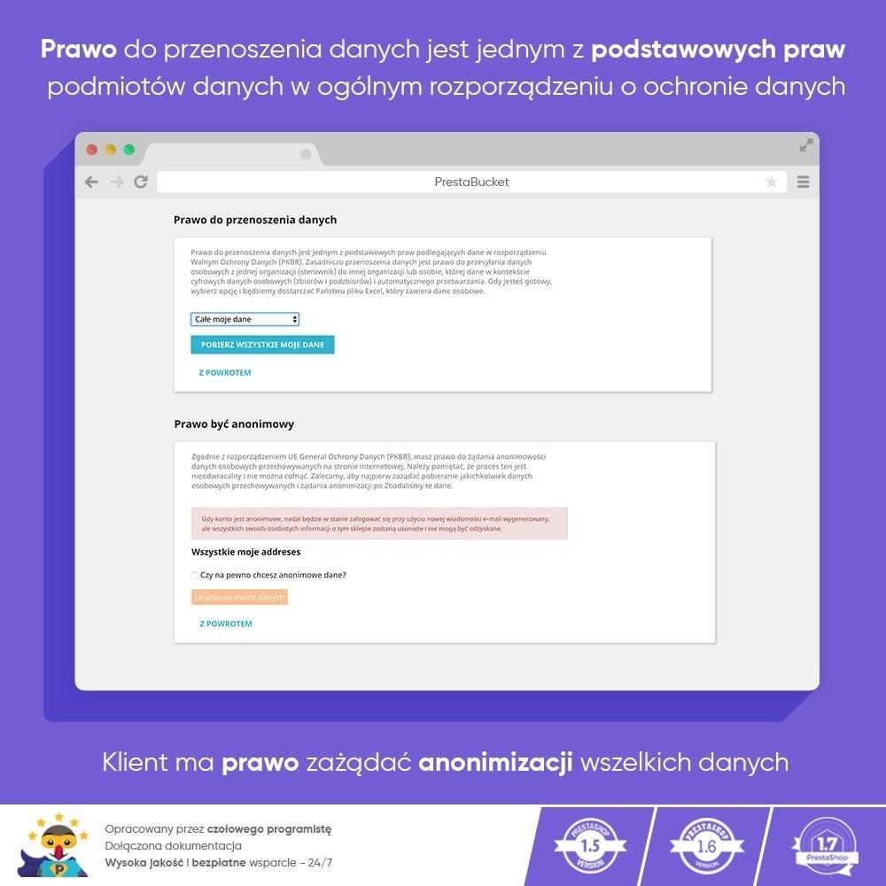 module - Wzmianki prawne - RODO ZAWODOWIEC Ogólne Rozporządzenie o ochronie Danych - 13