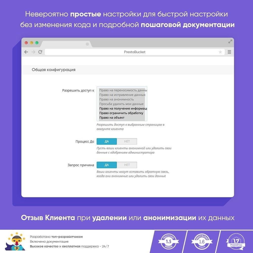 module - Администрация - RGPD - Общий регламент по защите персональных данных - 3