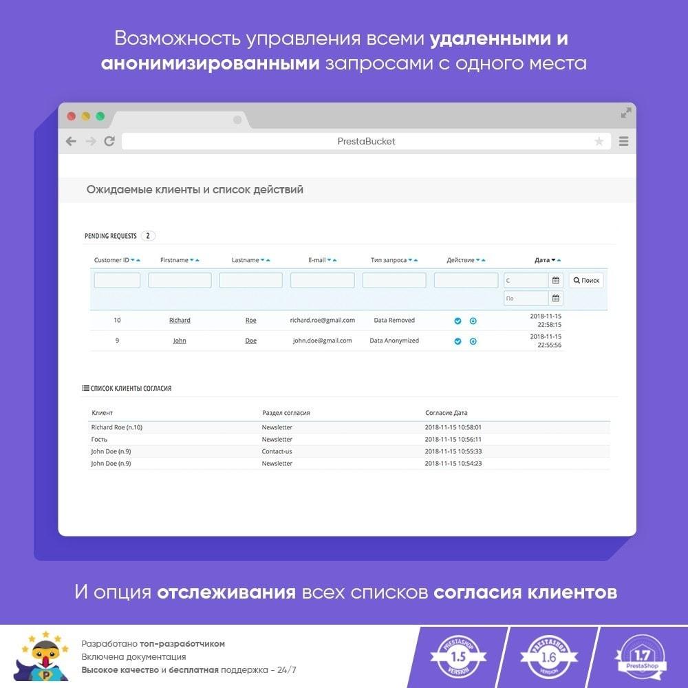 module - Администрация - RGPD - Общий регламент по защите персональных данных - 9