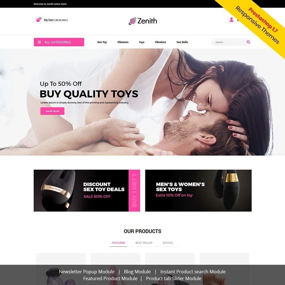 theme - Lingerie & Adultos - Zenith Lingerie - Loja de sexo para adultos - 1