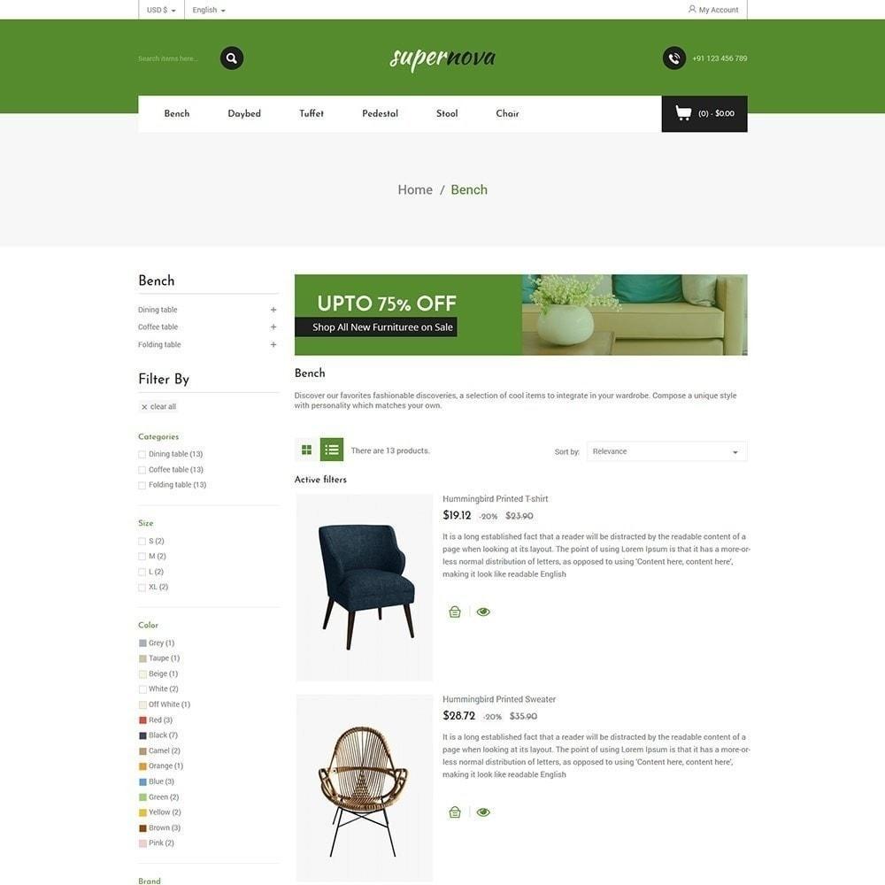 theme - Maison & Jardin - Super Nova - Magasin de meubles - 5