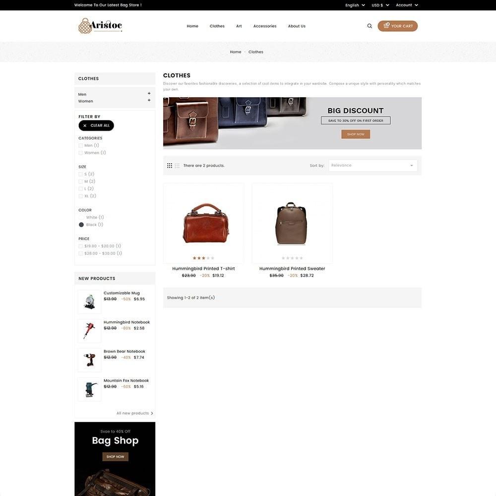 theme - Moda y Calzado - Aristoc Bag Store - 5