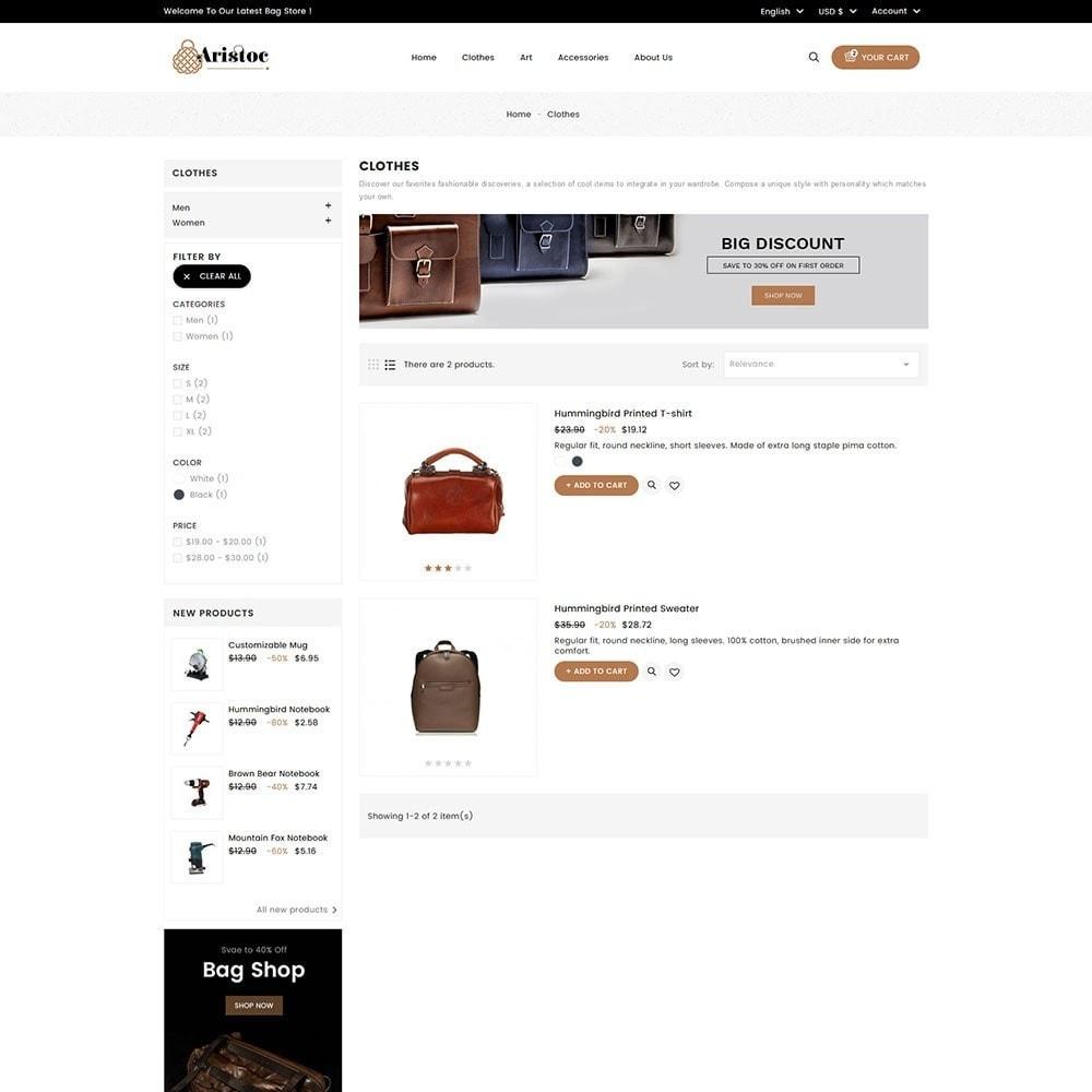 theme - Moda y Calzado - Aristoc Bag Store - 6