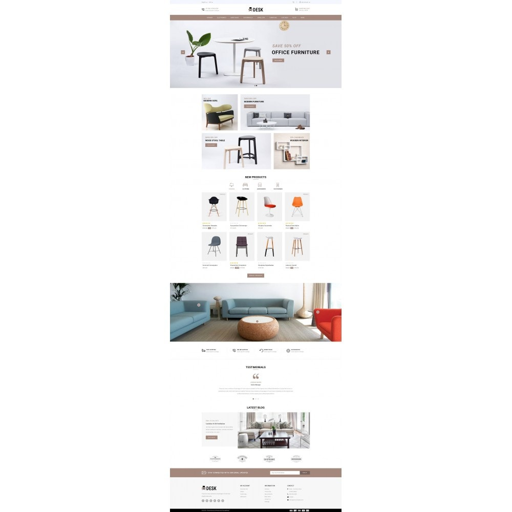 theme - Home & Garden - Desk - Furniture Store - 2