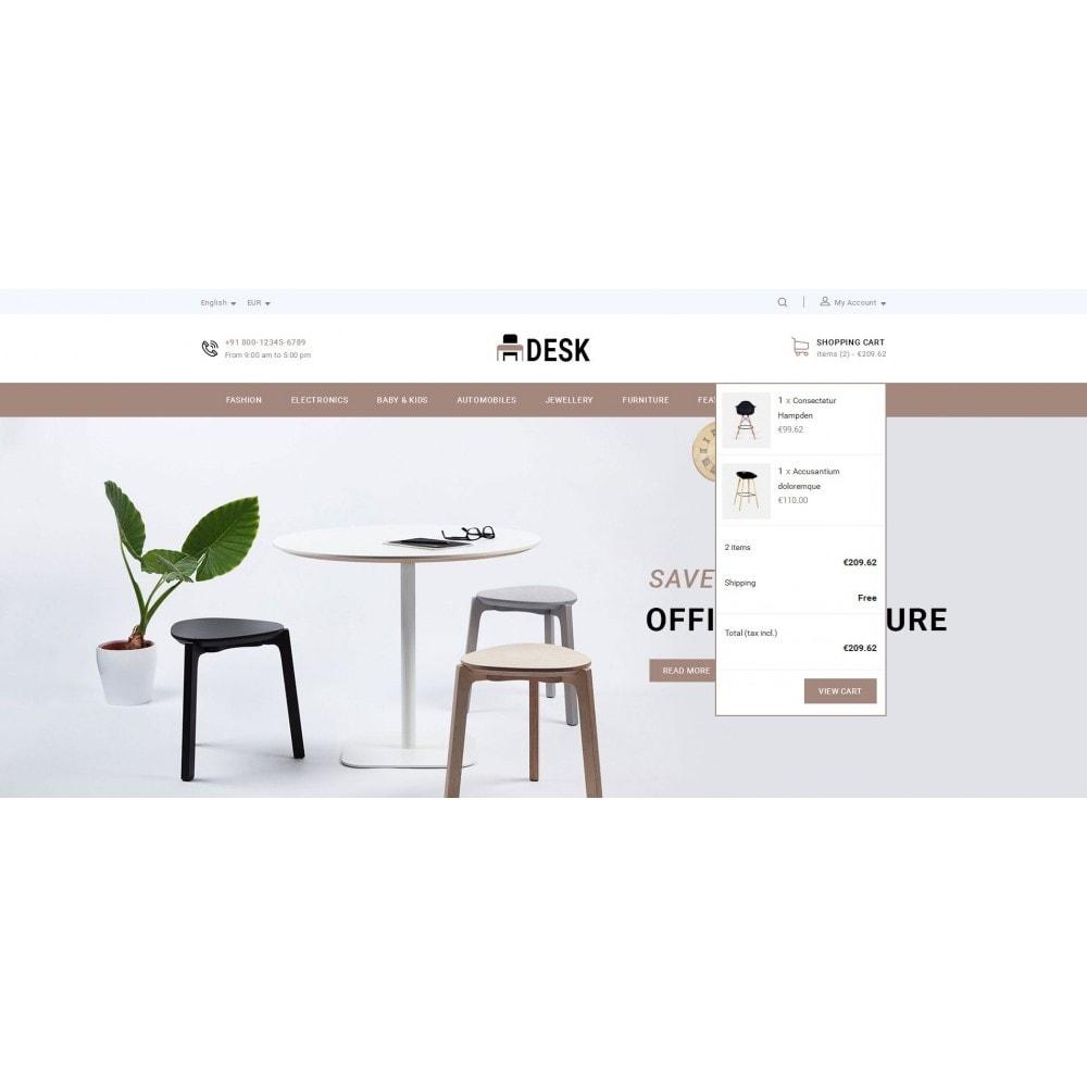 theme - Home & Garden - Desk - Furniture Store - 7