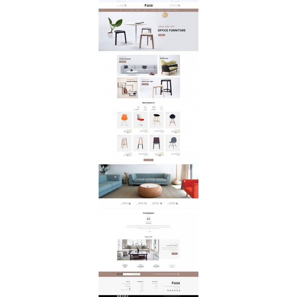 theme - Home & Garden - Desk - Furniture Store - 9