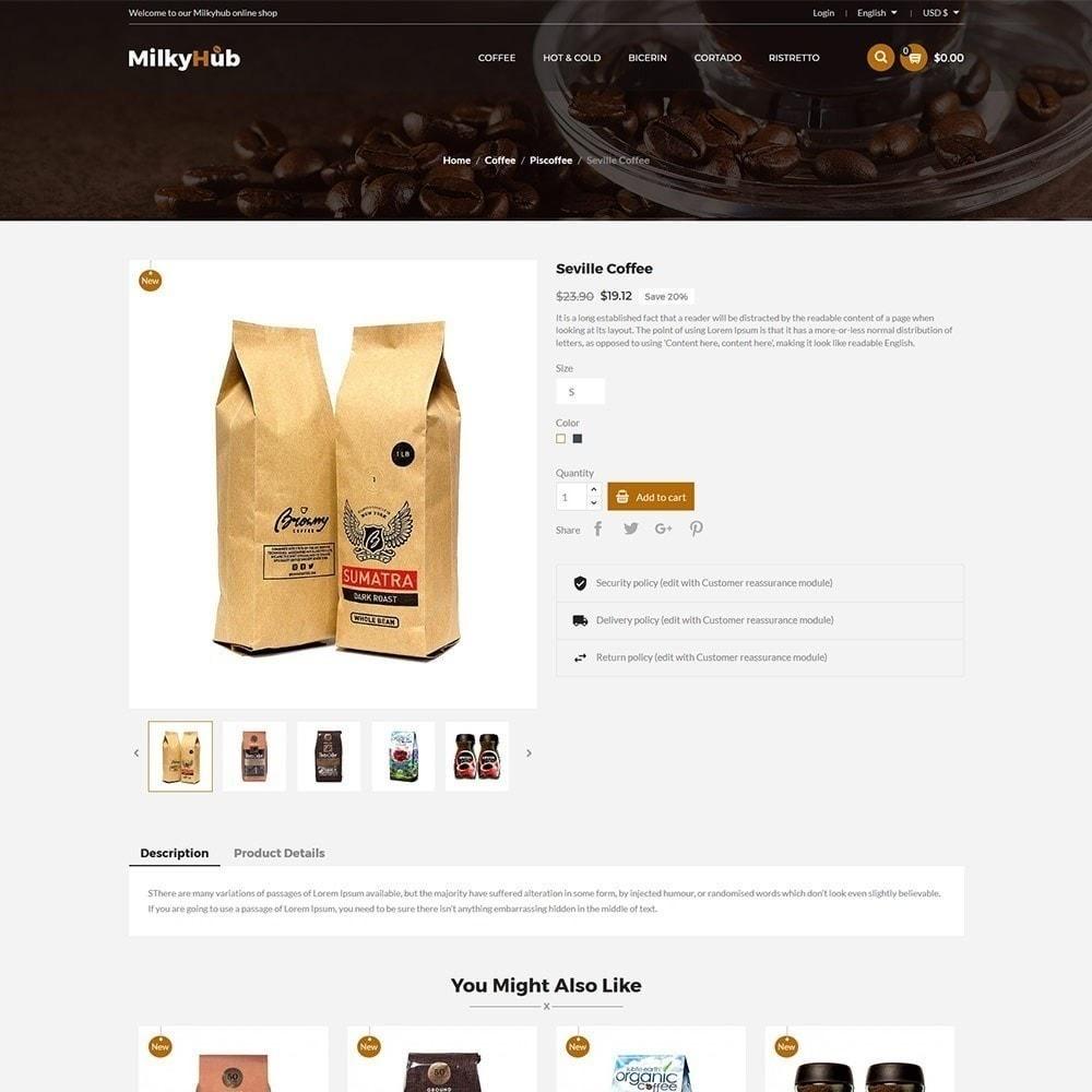 theme - Alimentos & Restaurantes - Bebida Milkyhub - Café - 6