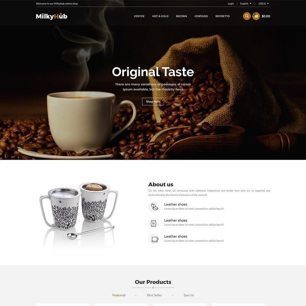 theme - Продовольствие и рестораны - Milkyhub Drink - магазин кофе - 5