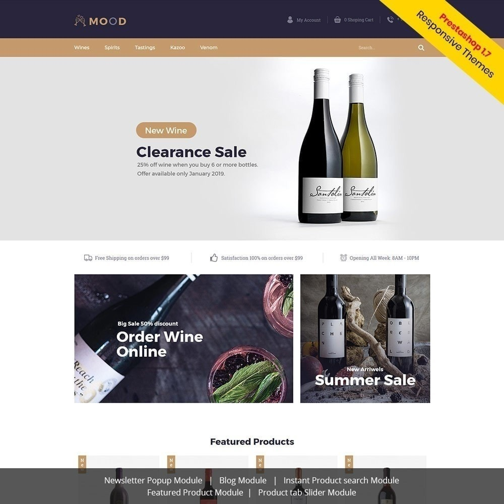 theme - Boissons & Tabac - Mood Wine - Magasin de boissons - 2