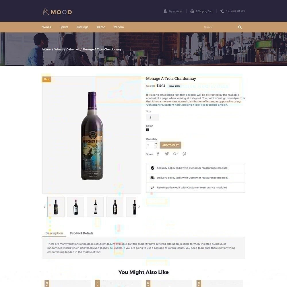 theme - Drank & Tabak - Mood Wine - Drink Store - 5