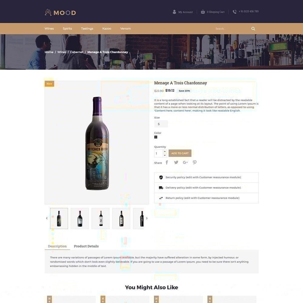 theme - Napoje & Wyroby tytoniowe - Mood Wine - Drink Store - 5