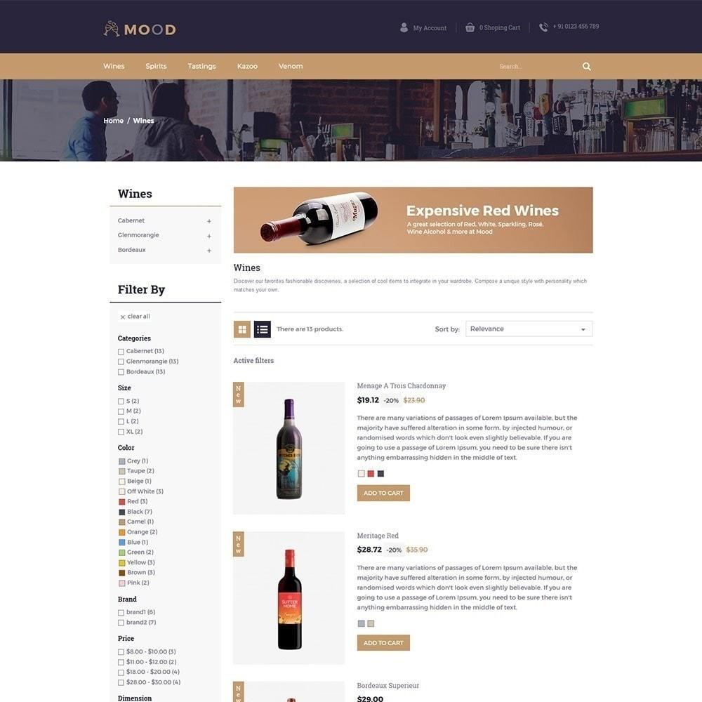 theme - Bebidas & Tabaco - Mood Wine - Loja de Bebidas - 5
