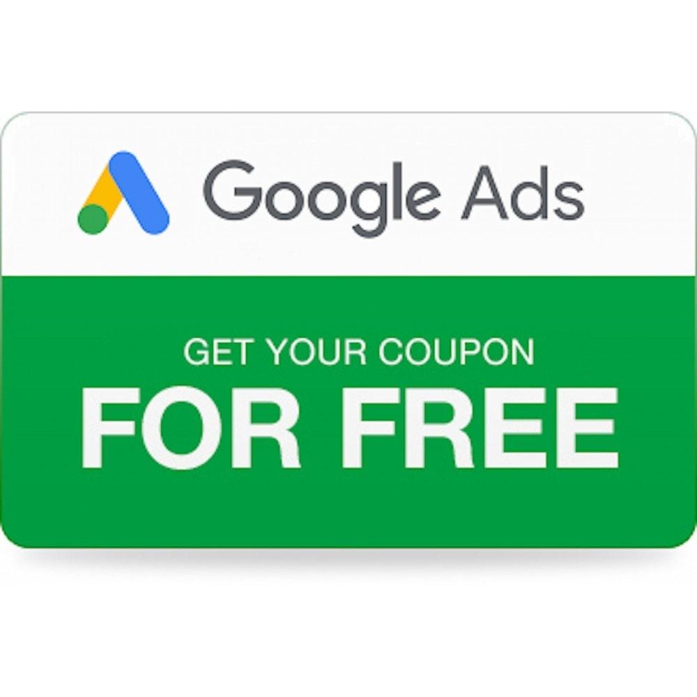 module - SEA SEM (paid advertising) & Affiliation Platforms - Google Ads Coupons - 1