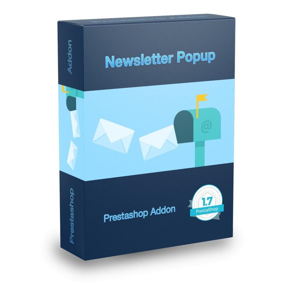 module - Newsletter & SMS - Mailchimp Newsletters Popup - 1