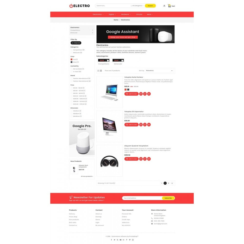 theme - Electrónica e High Tech - Electro Mega Appliances Shop - 4
