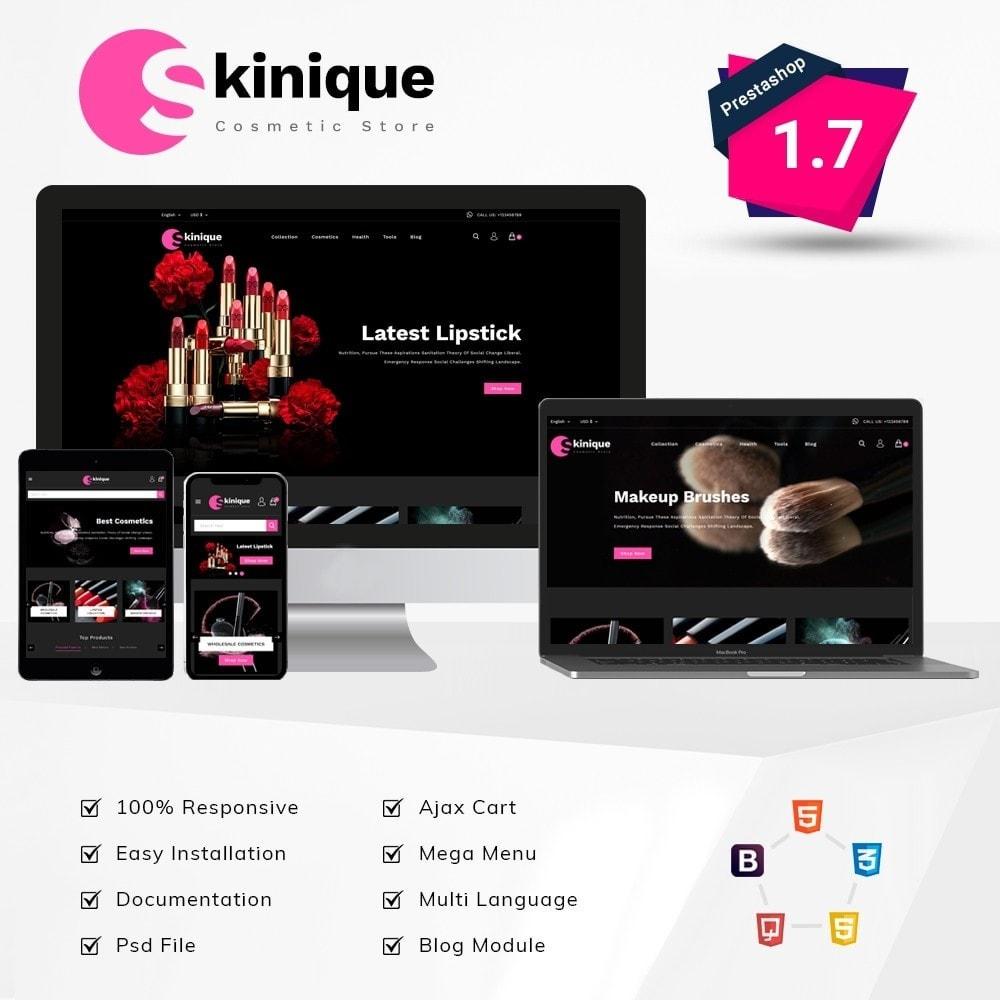 theme - Salute & Bellezza - Skinque Cosmetic store - 1