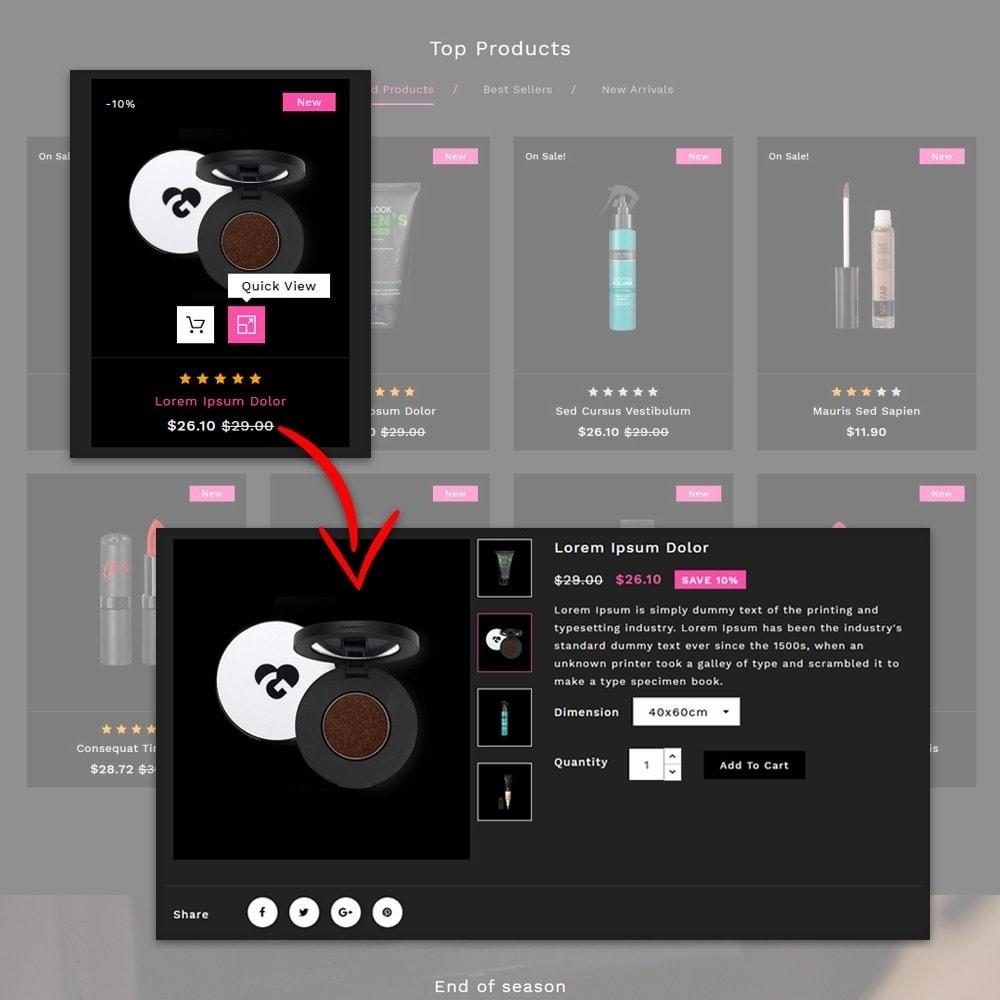theme - Salute & Bellezza - Skinque Cosmetic store - 6