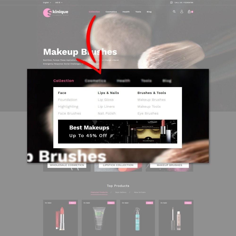 theme - Salute & Bellezza - Skinque Cosmetic store - 8