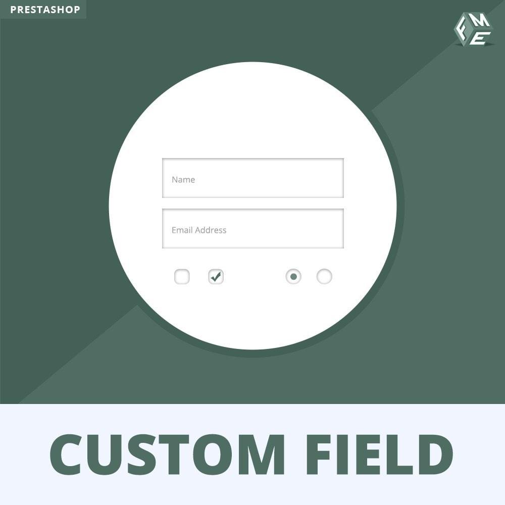 module - Cadastro e Processo de Pedido - Checkout Fields, Add Custom Fields to Checkout & Order - 1