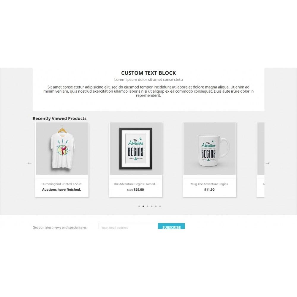 module - Producten op de homepagina - Recently Viewed Products - Ultimate carousel - 3