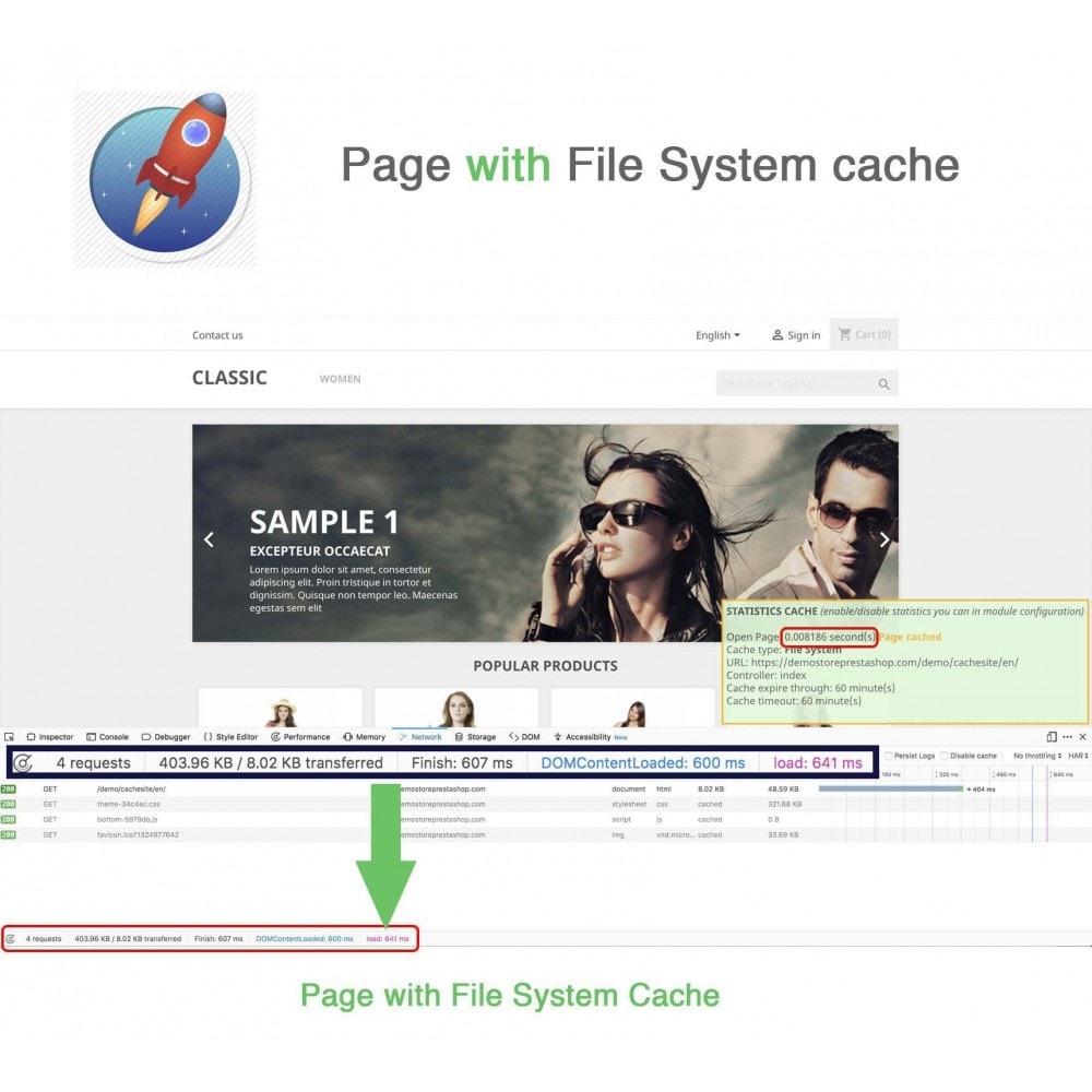 module - Rendimiento del sitio web - Site Cache + Dynamic Hooks - 4