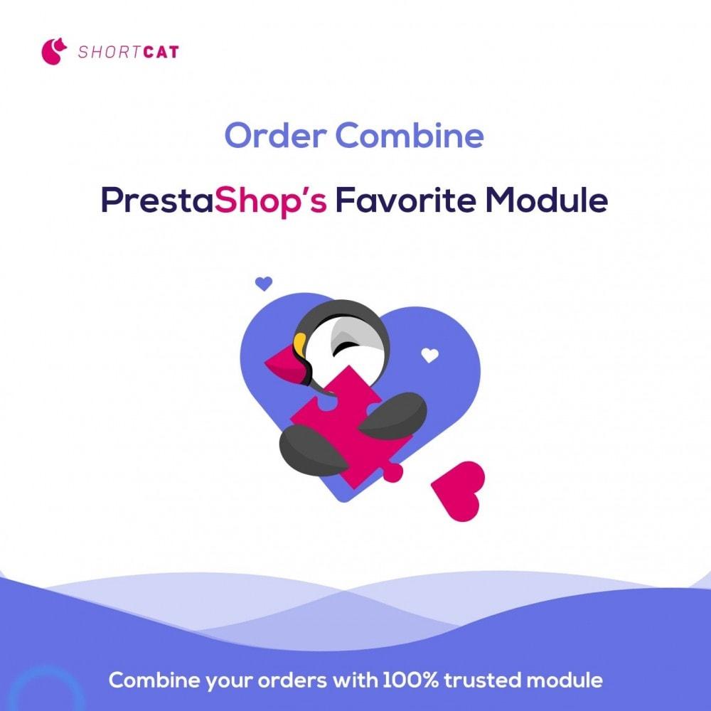 module - Управление заказами - Fast Combine Order / Invoice - 1