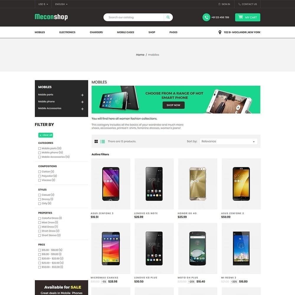 theme - Electrónica e High Tech - Mecon Mobile - Tienda de electrónica - 4