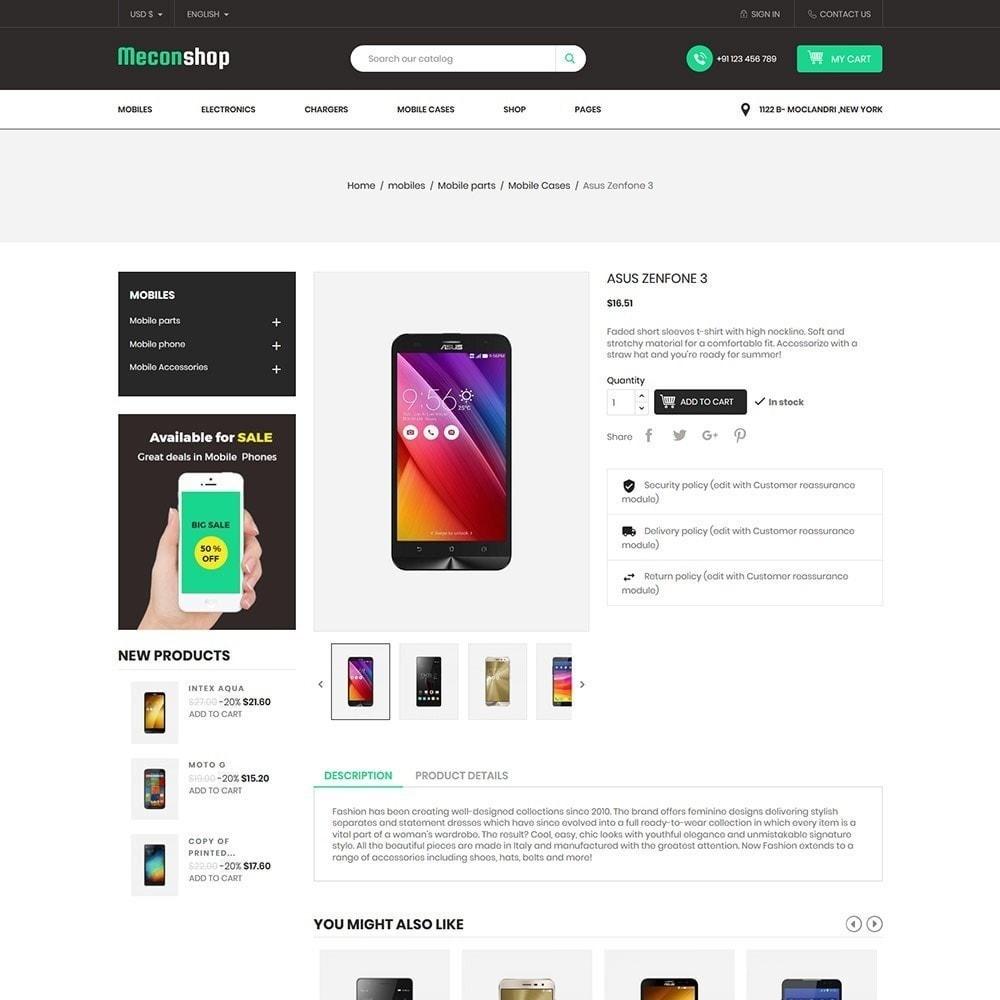 theme - Electrónica e High Tech - Mecon Mobile - Tienda de electrónica - 6